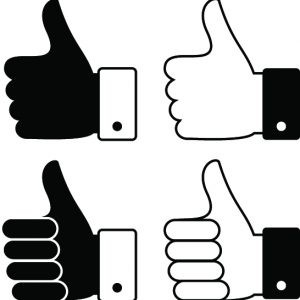 different thumbs ups icons