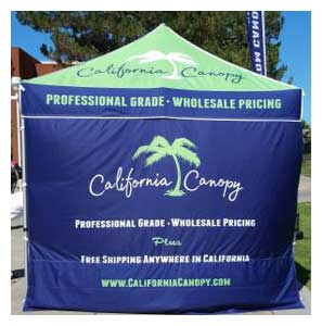 Custom Canopy Tent in California