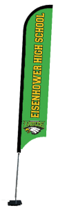 feather flags styles
