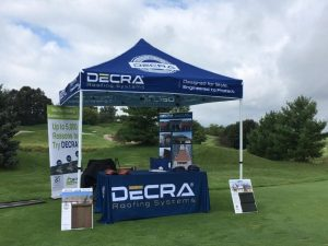 Custom canopies, flags, and banners