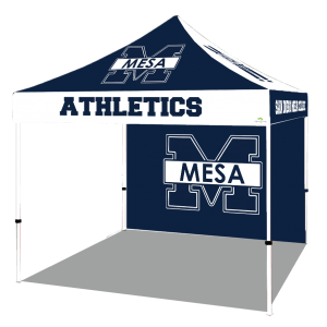football team promotion canopies