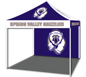 custom promotion tents