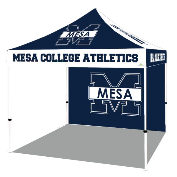 Custom canopies with logo
